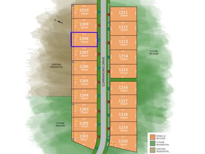 Lot 1208, Currawong Drive, Tamworth