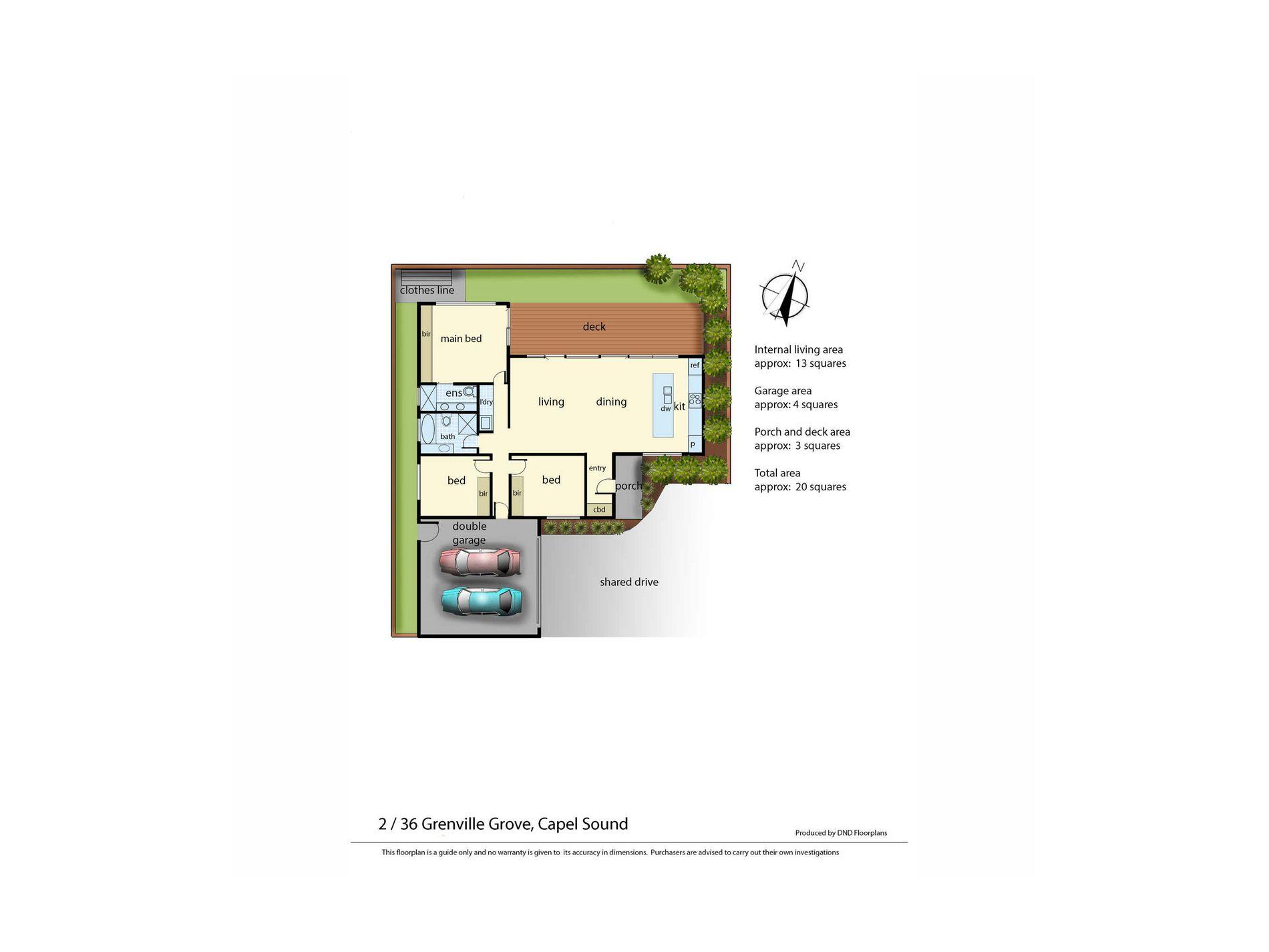 Lot 2, 36 Grenville Grove, Capel Sound
