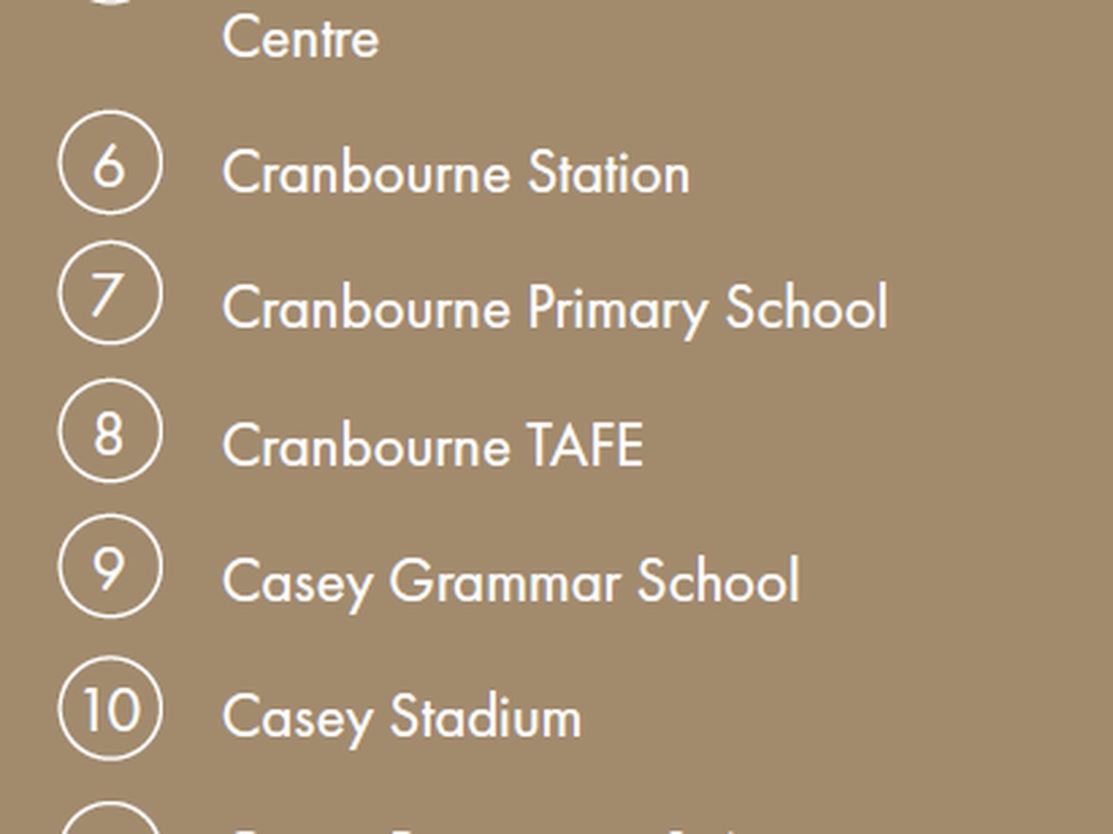 Cranbourne East