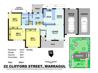 22 CLIFFORD STREET, Warragul