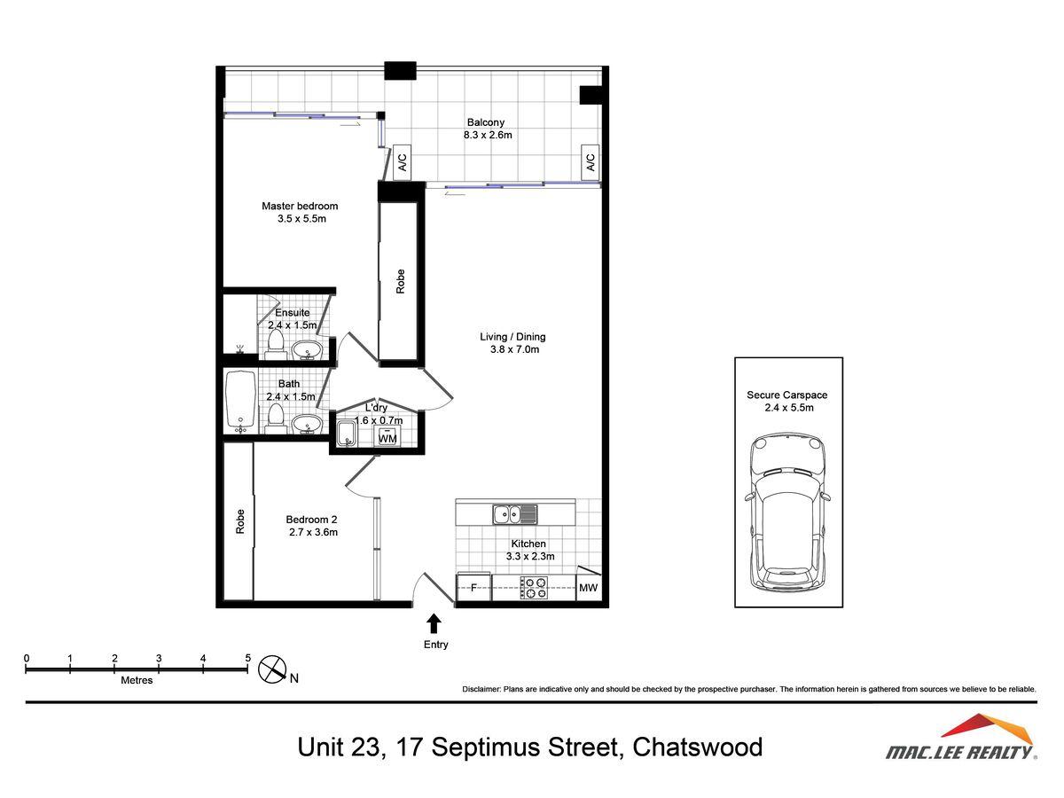 23 / 17 Septimus Street, Chatswood