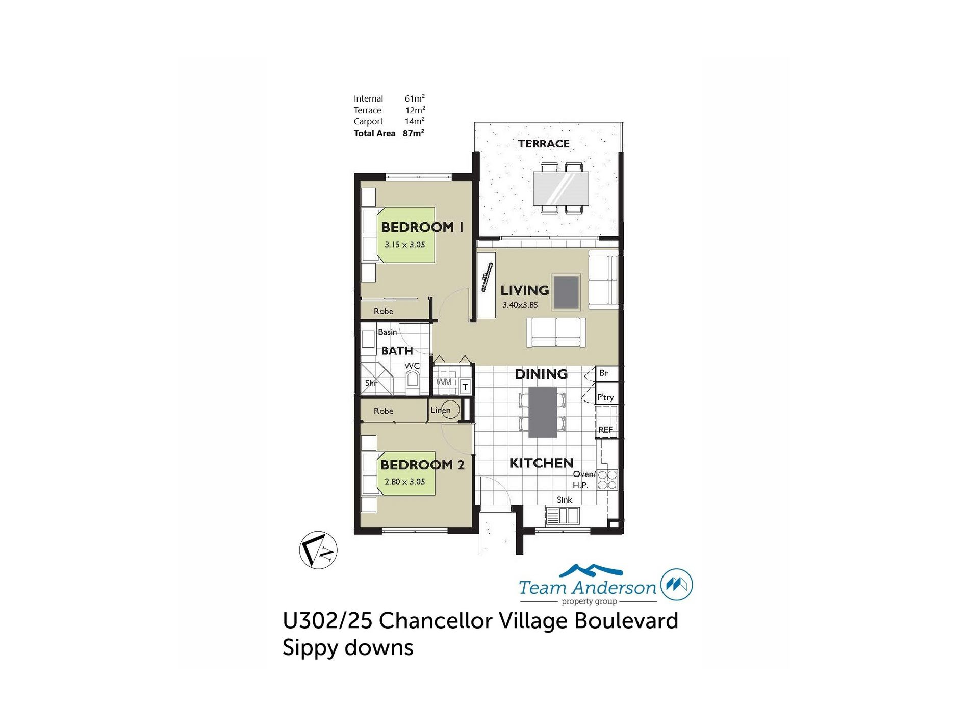 302 / 25 Chancellor Village Boulevard, Sippy Downs