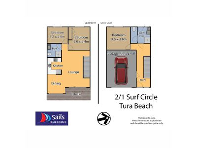 2 / 1 Surf Circle, Tura Beach