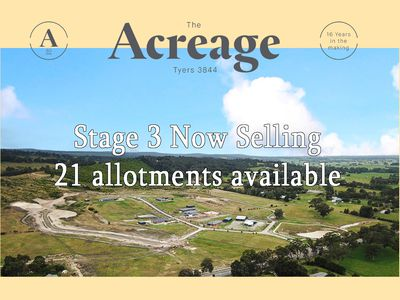 STAGE 3  THE ACREAGE, Tyers