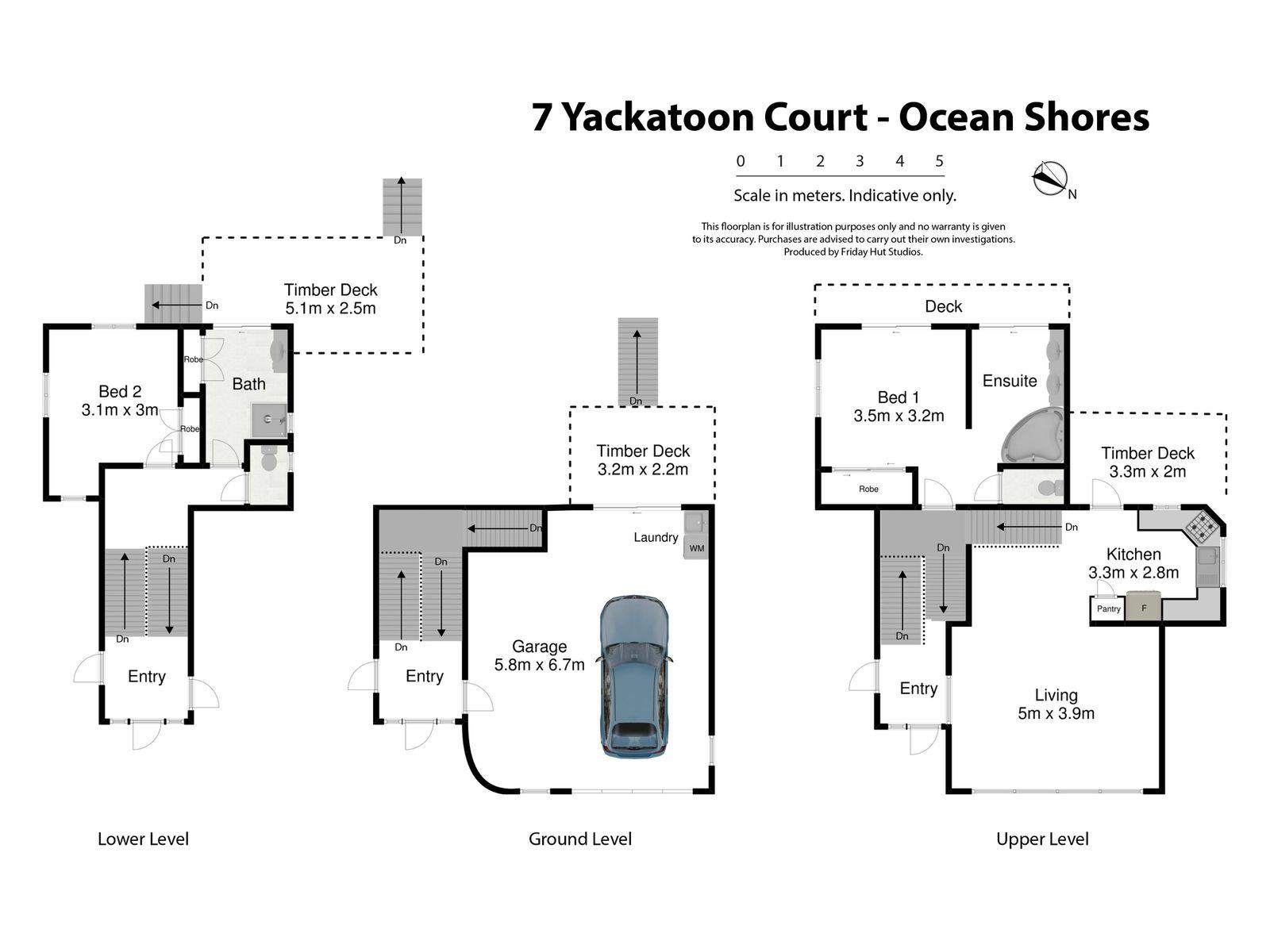 7 Yackatoon Court, Ocean Shores