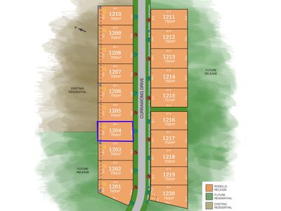 Lot 1204, Currawong Drive, Tamworth