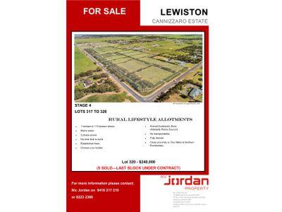 Lot 317-326, Gawler River Road, Lewiston