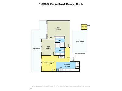 316 / 1072 Burke Road , Balwyn North