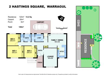 2 Hastings Square, Warragul