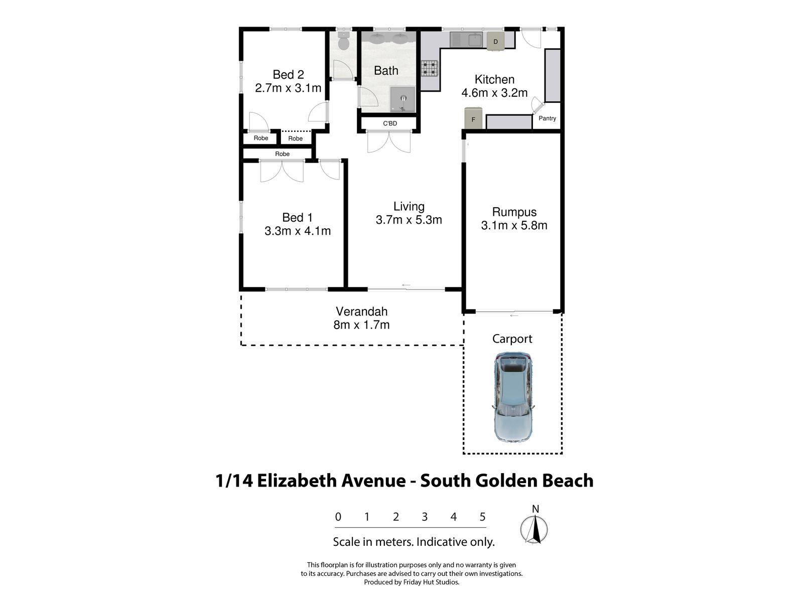 1 / 14 Elizabeth Avenue, South Golden Beach