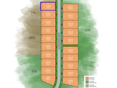 Lot 1210, Currawong Drive, Tamworth