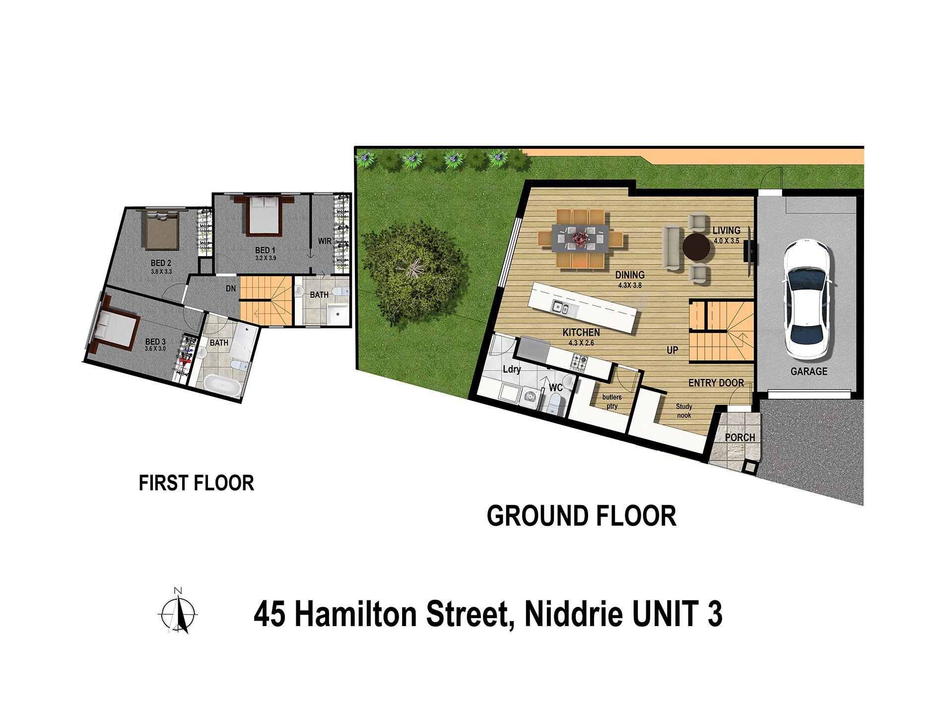 3 / 45 Hamilton Street, Niddrie