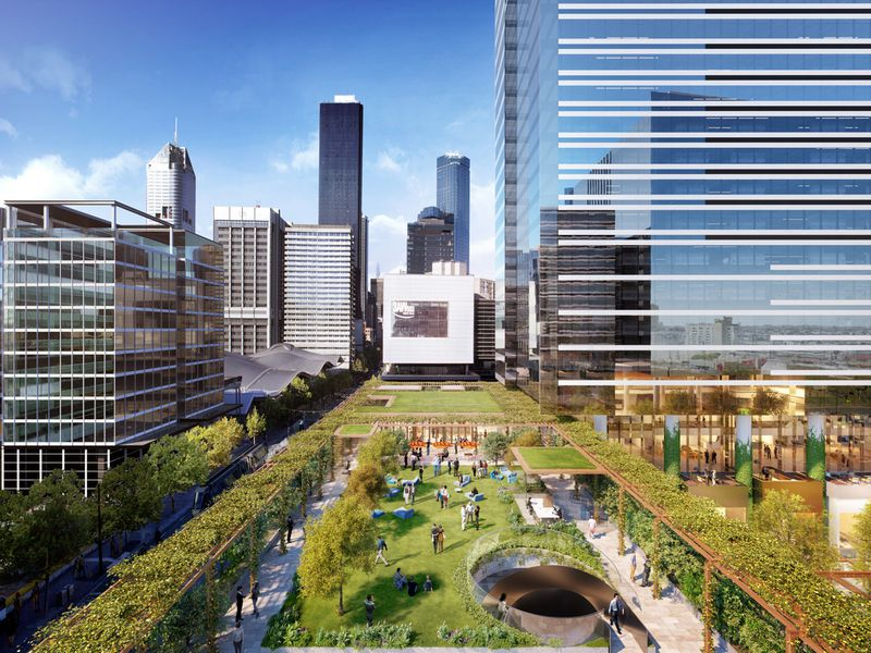 Brand New City Project by Lendlease