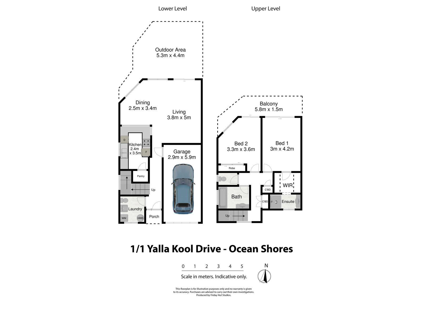 1 / 1 Yalla Kool Drive, Ocean Shores