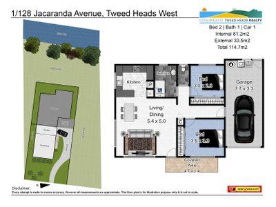 1 / 128 Jacaranda Avenue, Tweed Heads West