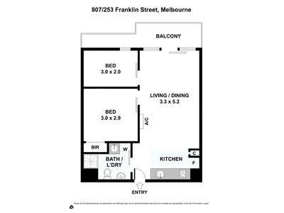 807 / 253 Franklin Street, Melbourne
