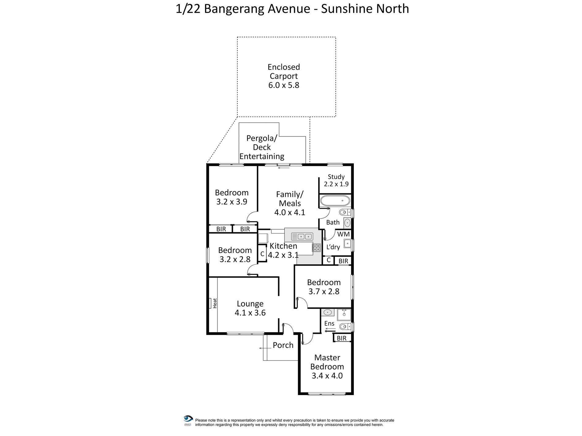 1 / 22 Bangerang Avenue, Sunshine North
