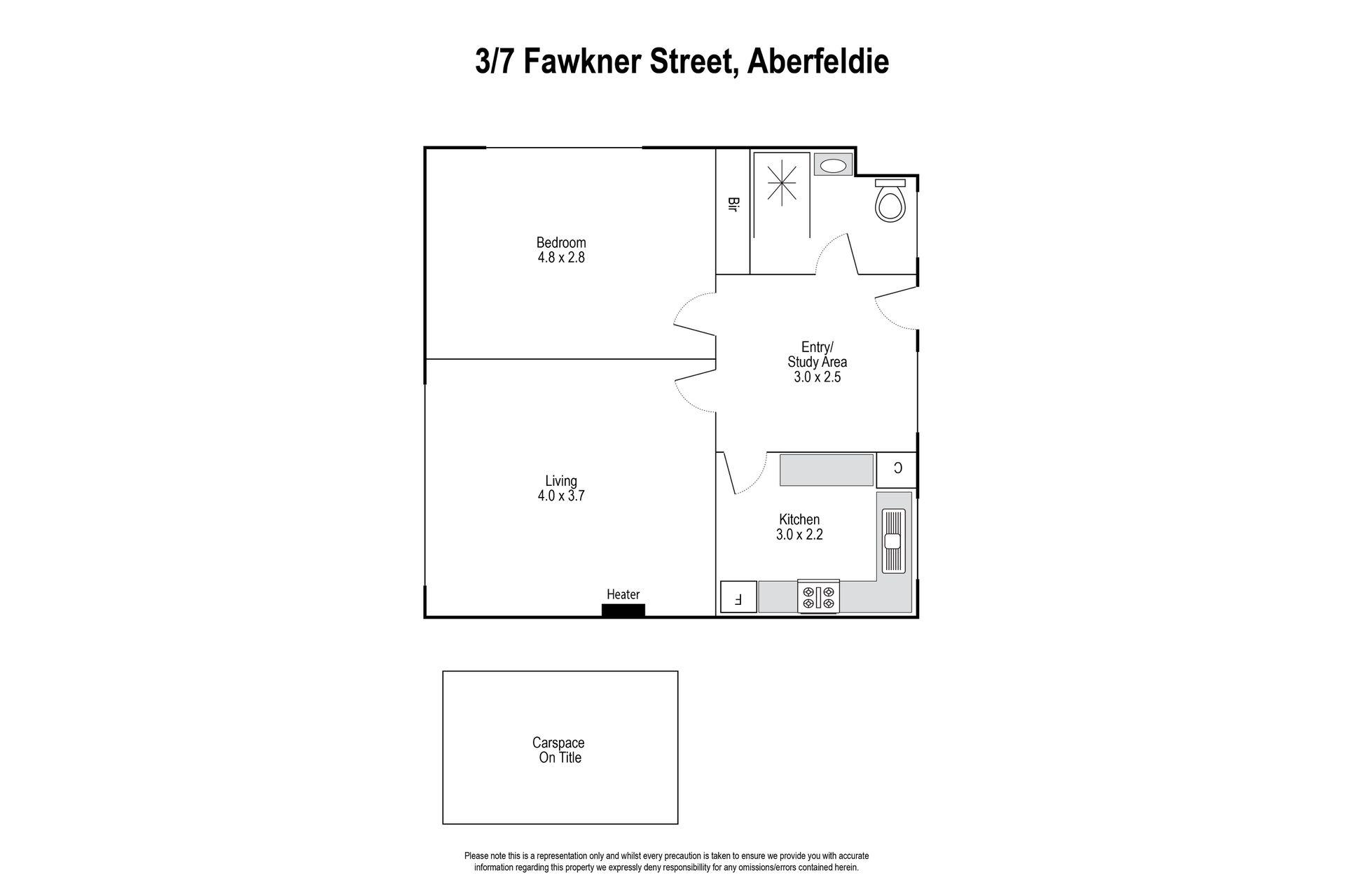 3 / 7 Fawkner Street, Aberfeldie