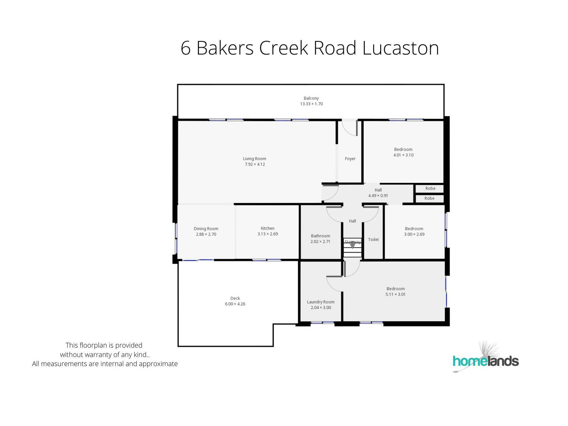 6 Bakers Creek Road, Lucaston