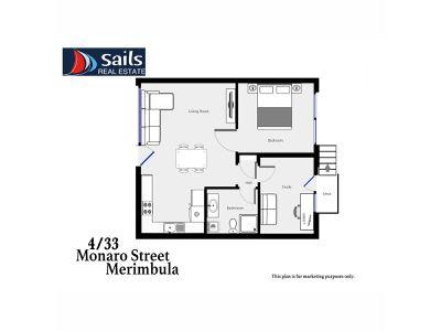 4 / 33 Monaro Street, Merimbula