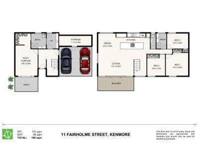 11 Fairholme Street, Kenmore