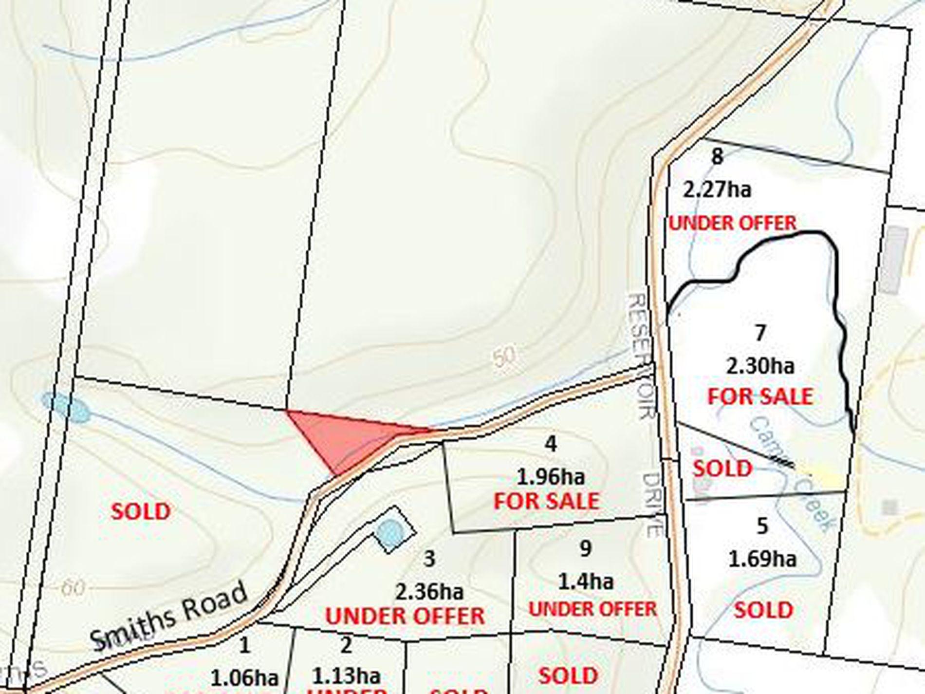 New Rural Living Subdivision Reservoir Drive, Wynyard