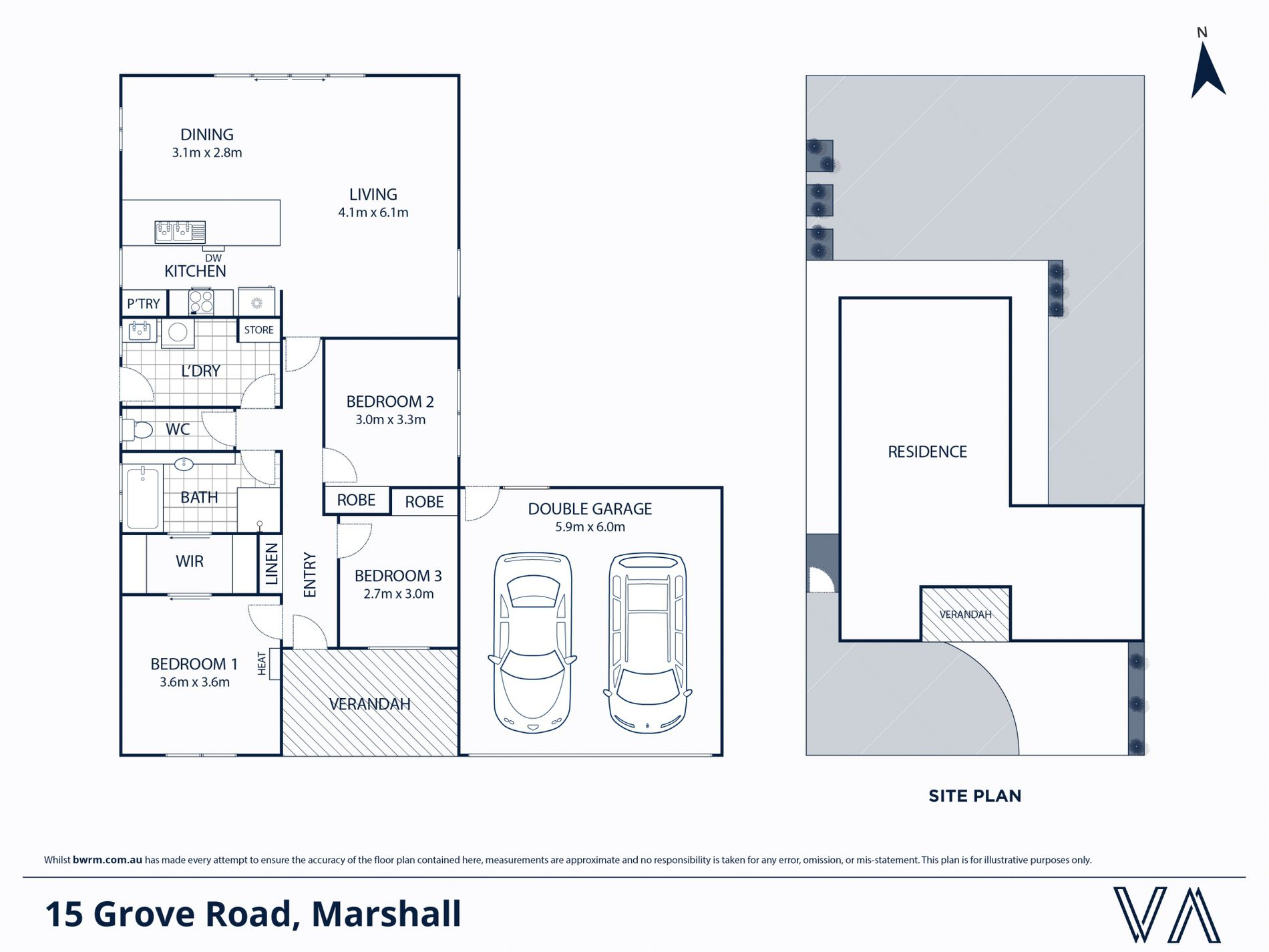 15 Grove Road, Marshall