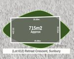 Lot 612 Retreat Crescent, Sunbury