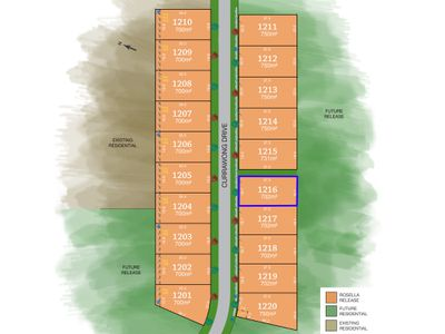 Lot 1216, Currawong Drive, Tamworth