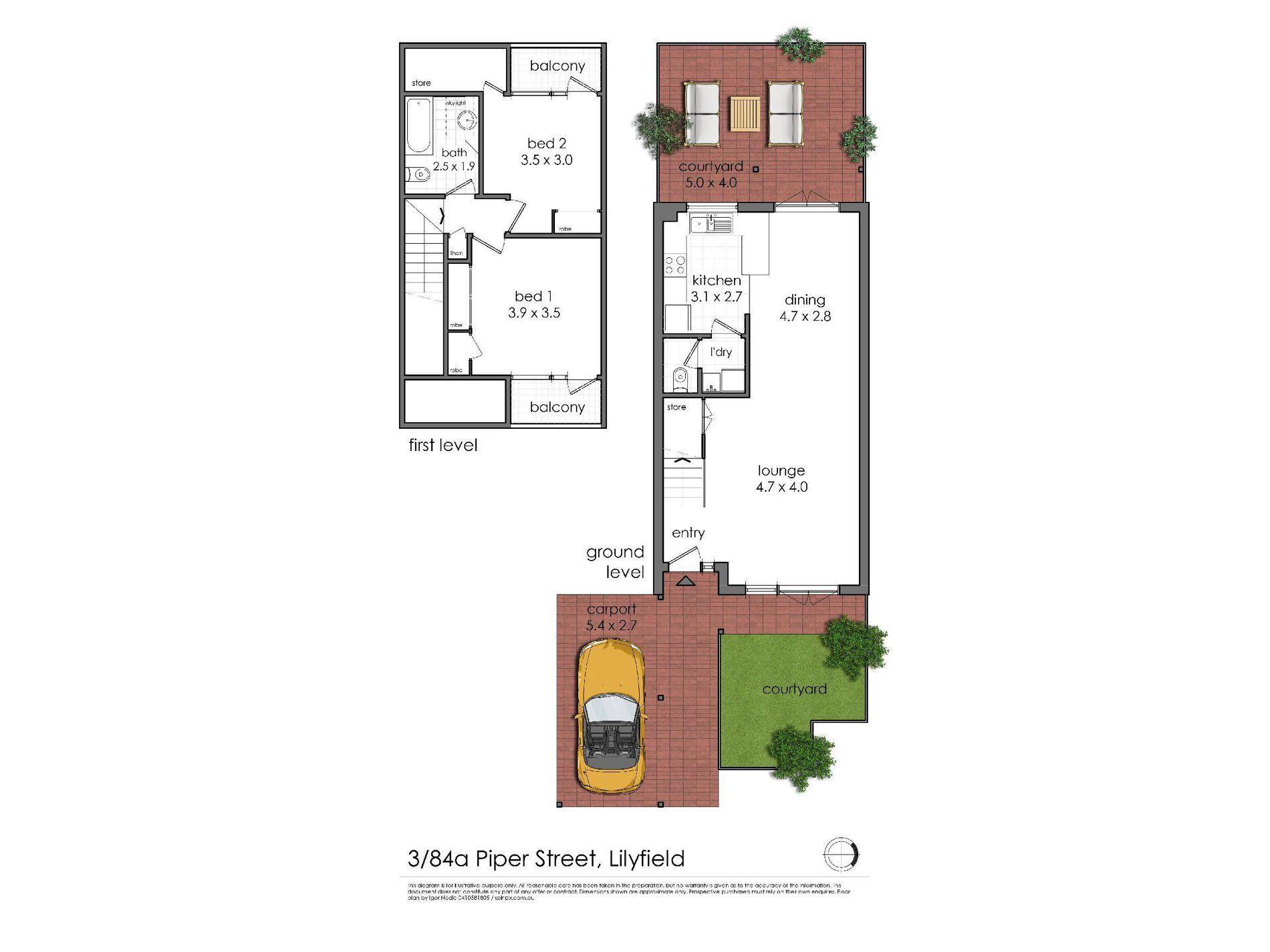 3 / 84A Piper Street, Lilyfield