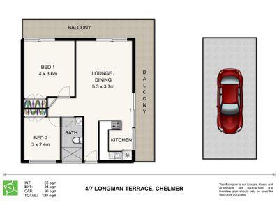4 / 7 Longman Terrace, Chelmer