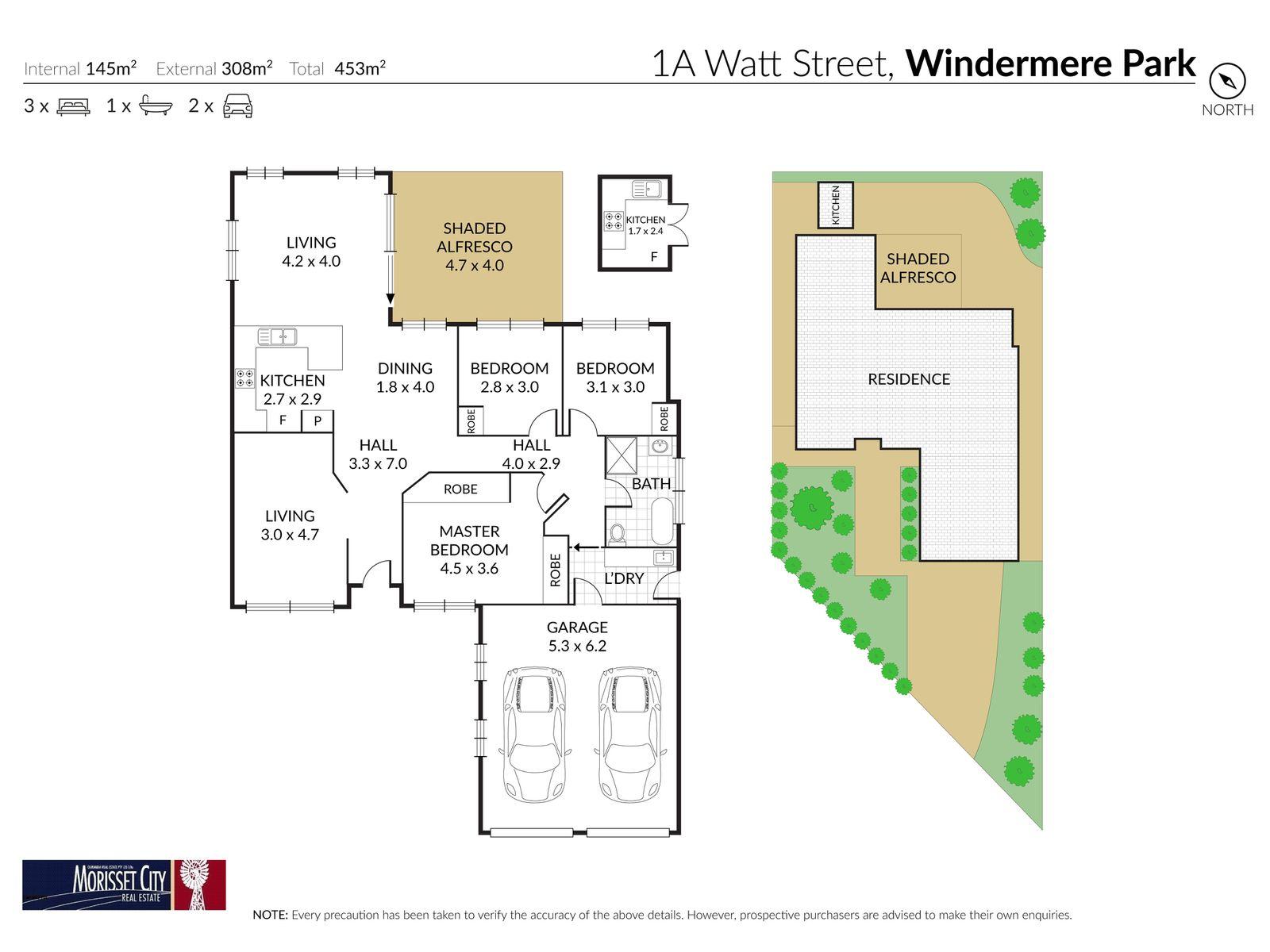 1A Watt Street, Windermere Park