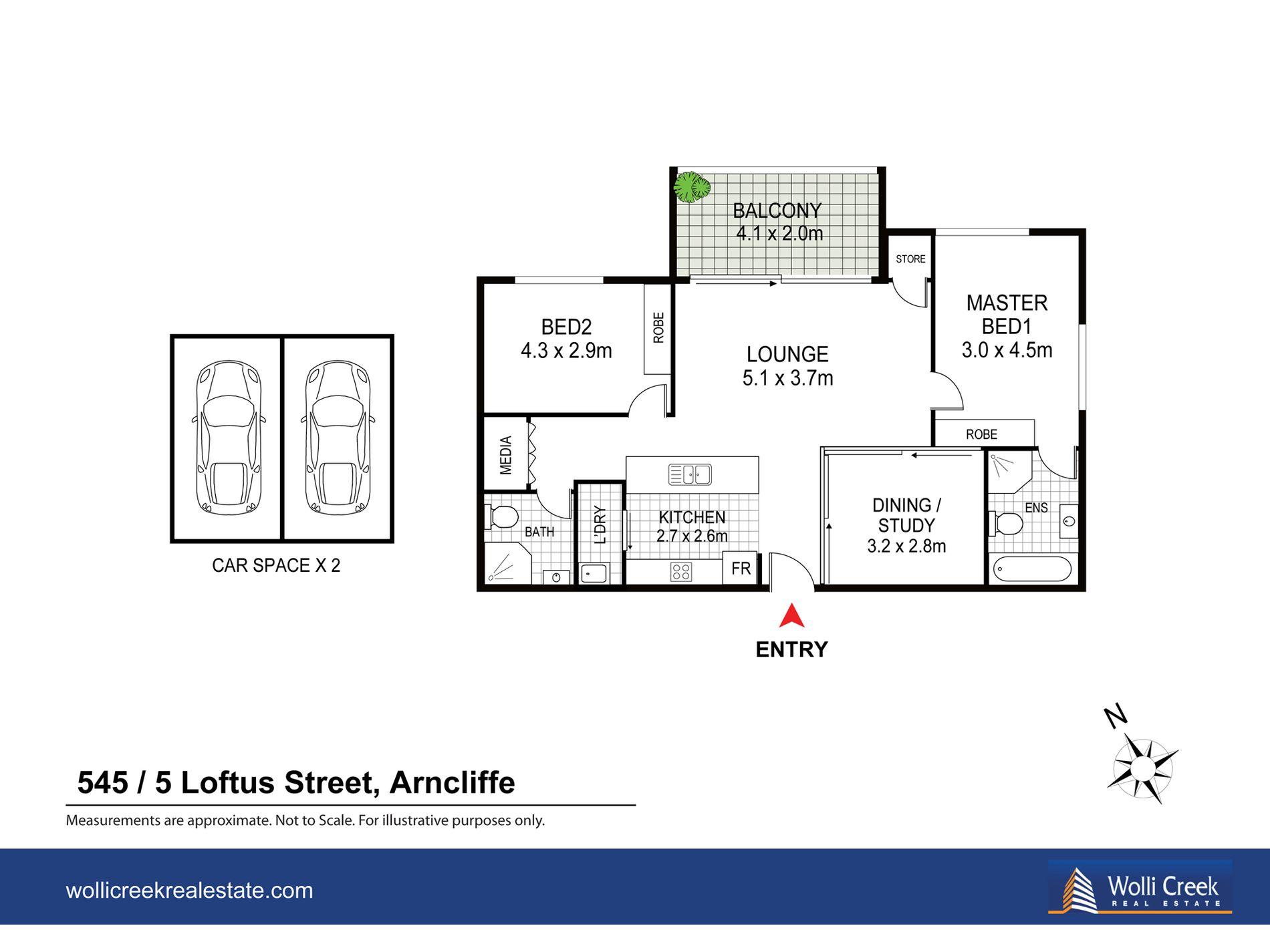 545 / 5 Loftus Street, Turrella