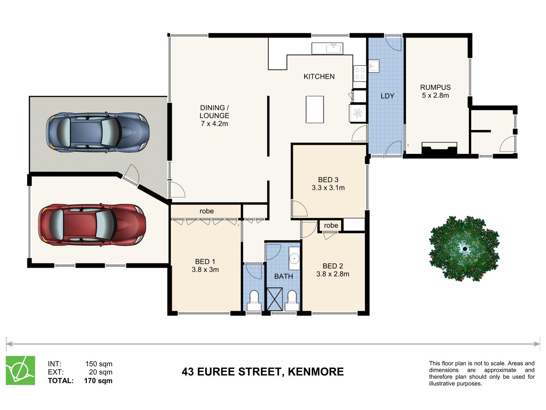 43 Euree Street, Kenmore