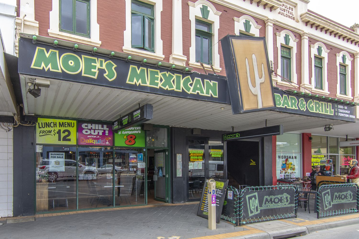Moe's Mexican Bar & Grill Restaurant