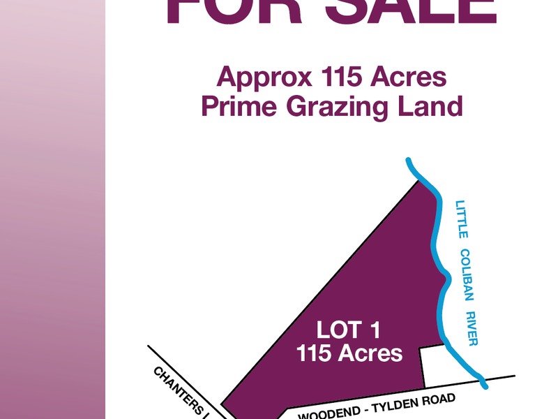 Lot 1 Tylden-Woodend Road, Tylden