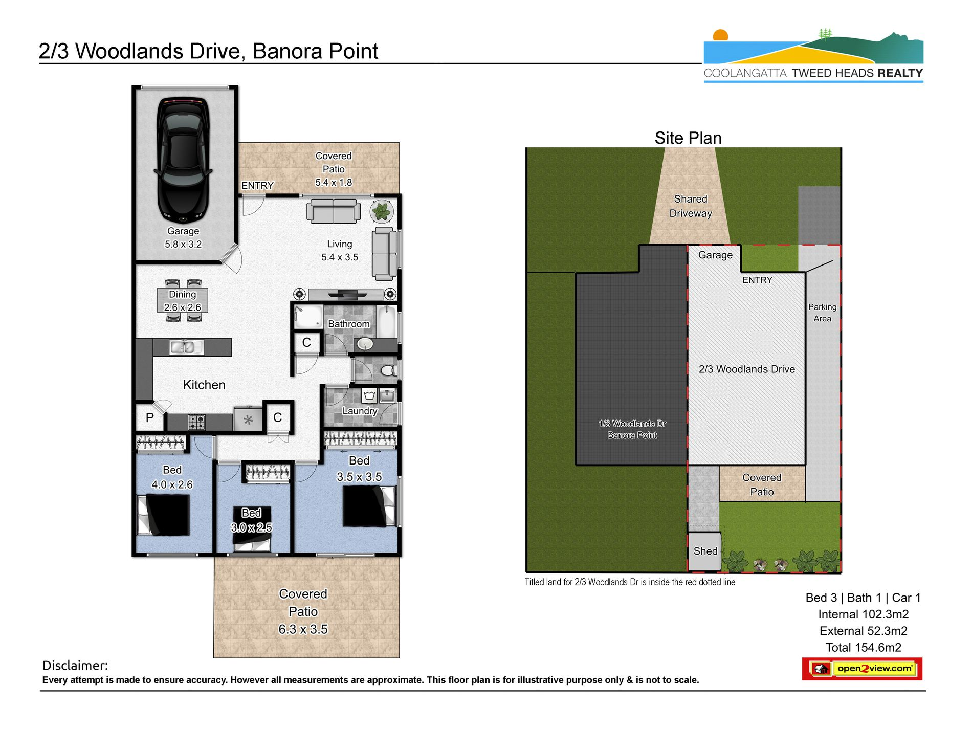 2 / 3 Woodlands Drive, Banora Point