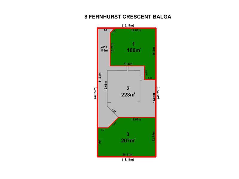 Lot 1&3, 8 Fernhurst Crescent, Balga
