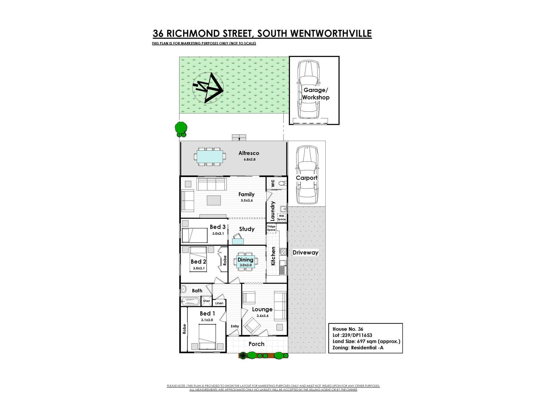 36 Richmond Street, South Wentworthville