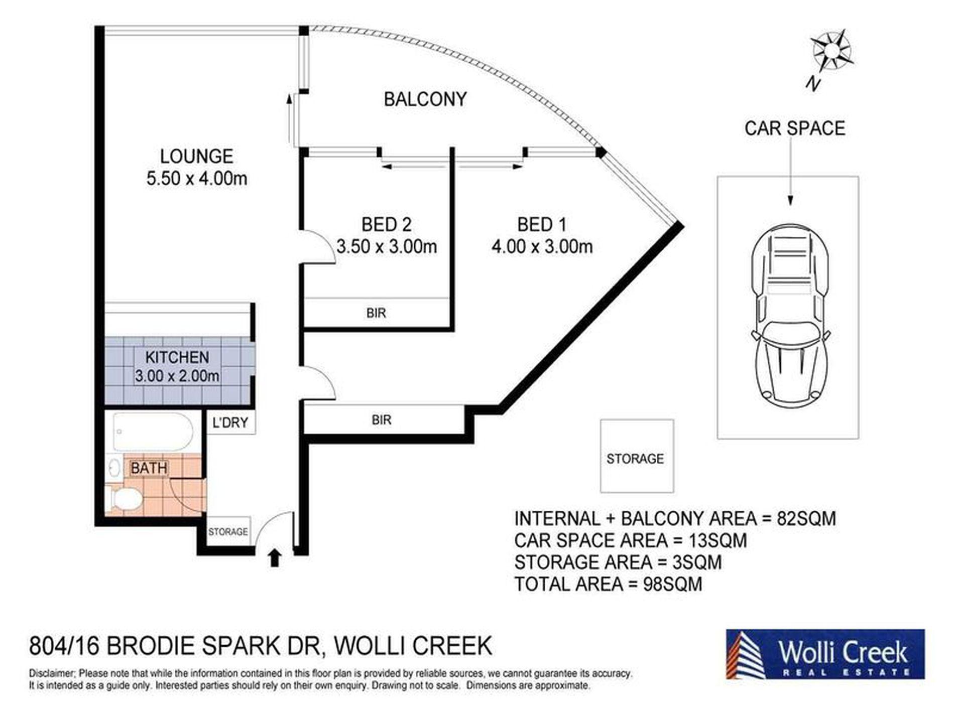 804 / 16 Brodie Spark Drive, Wolli Creek