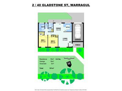 2 / 40 Gladstone Street, Warragul
