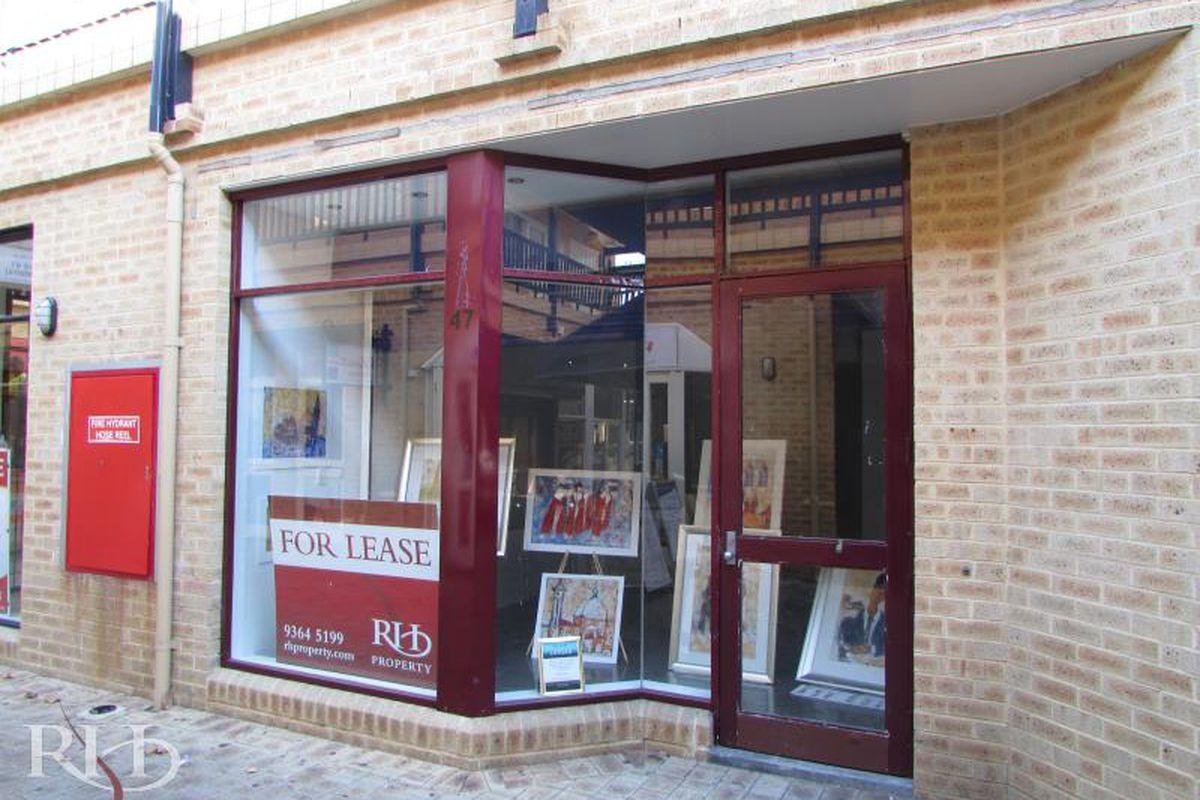 47m² Prime Retail Shop - short or long term lease available