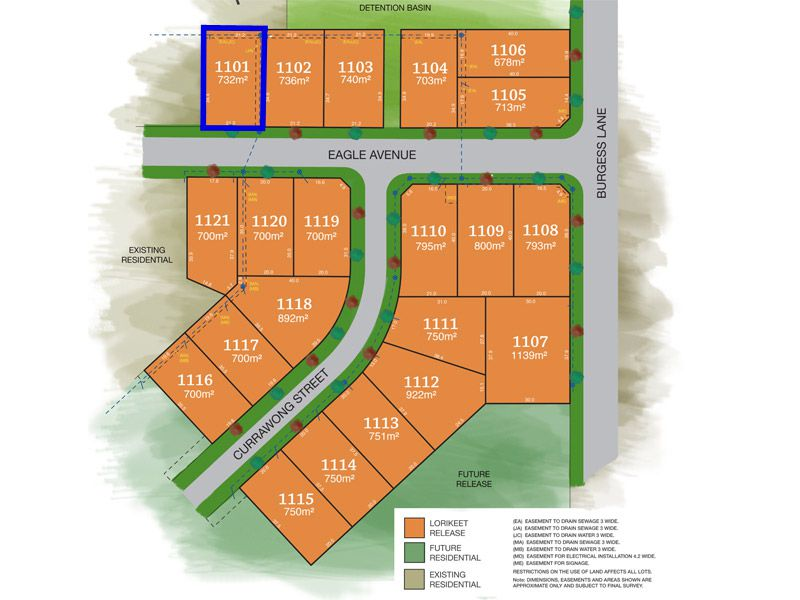 Lot 1101, Eagle Avenue, Tamworth