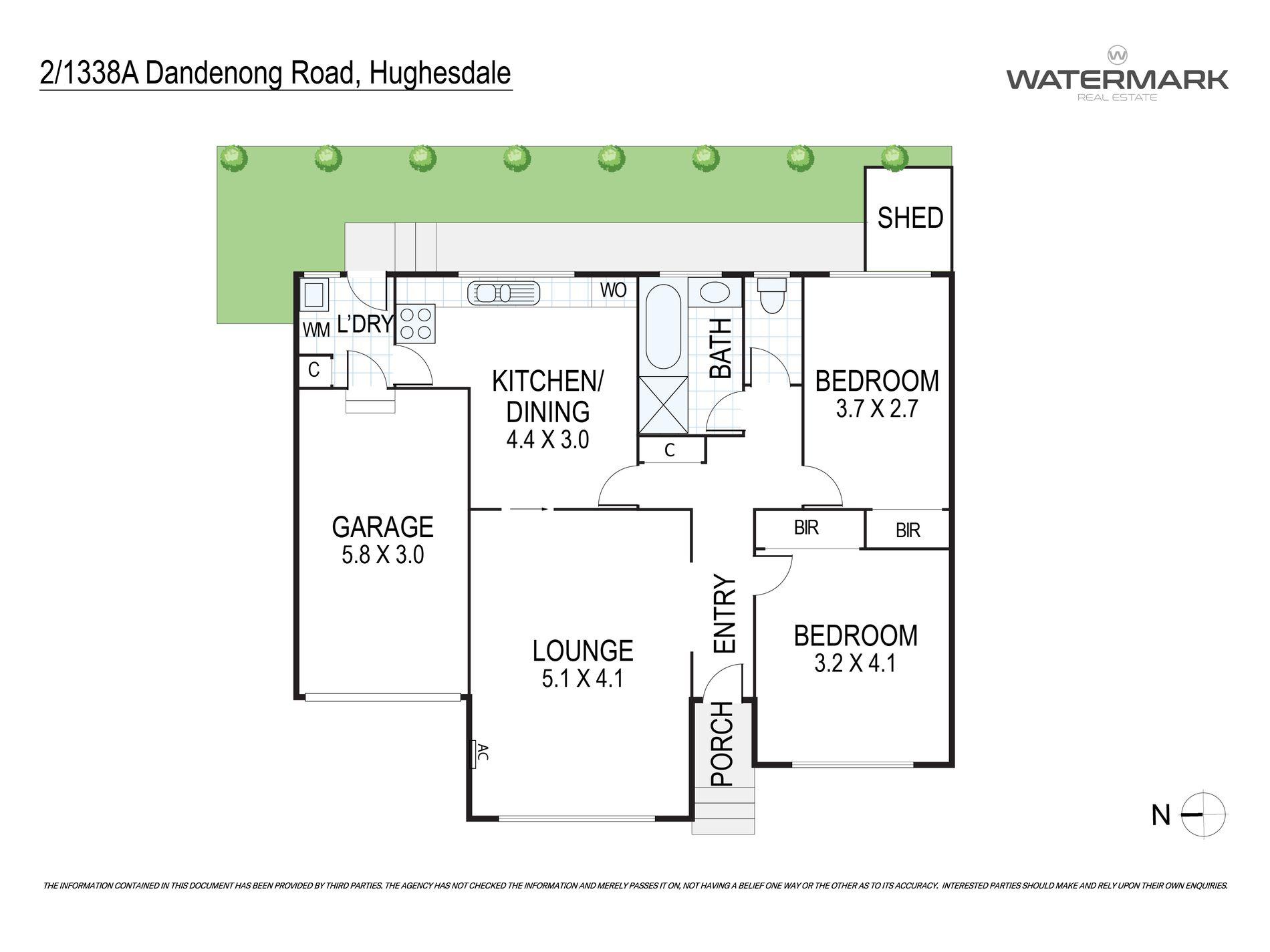 2 / 1338A Dandenong Road, Hughesdale