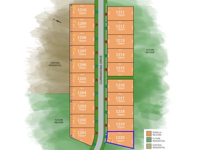 Lot 1220, Currawong Drive, Tamworth