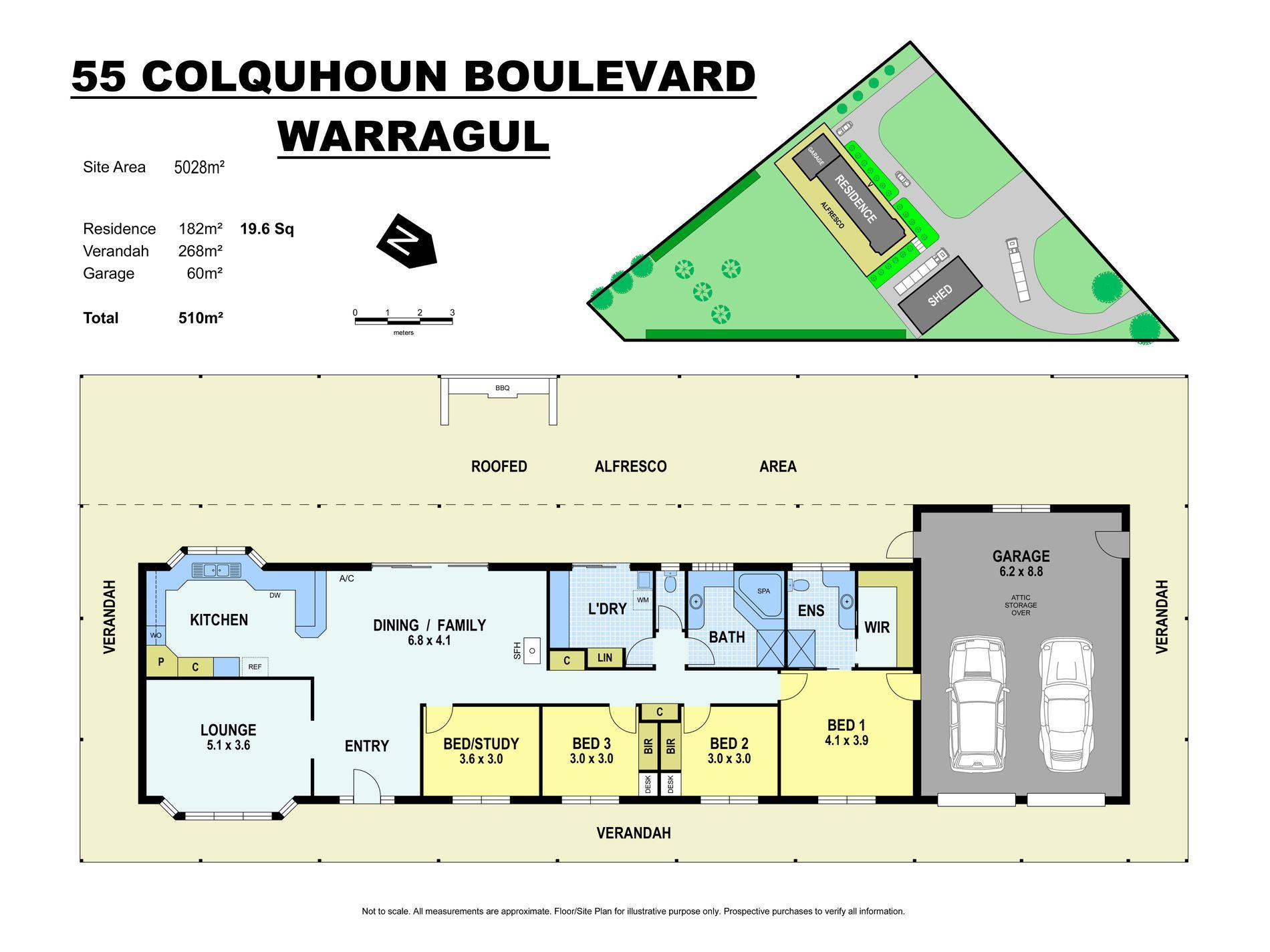 55 Colquhoun Boulevard, Warragul