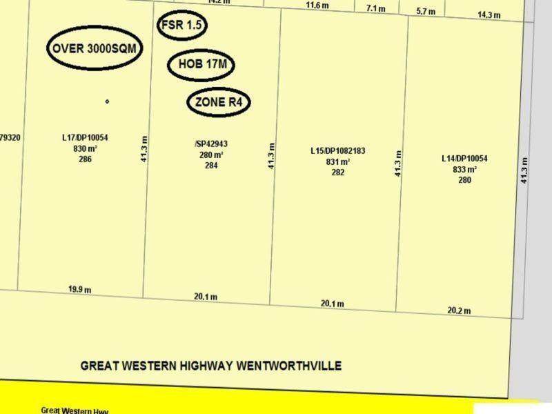 280 Great Western Highway, Wentworthville