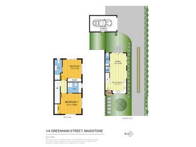 1 / 4 Greenham Street, Maidstone