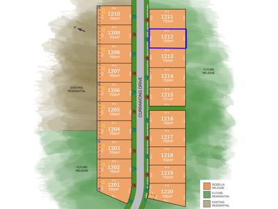Lot 1212, Currawong Drive, Tamworth