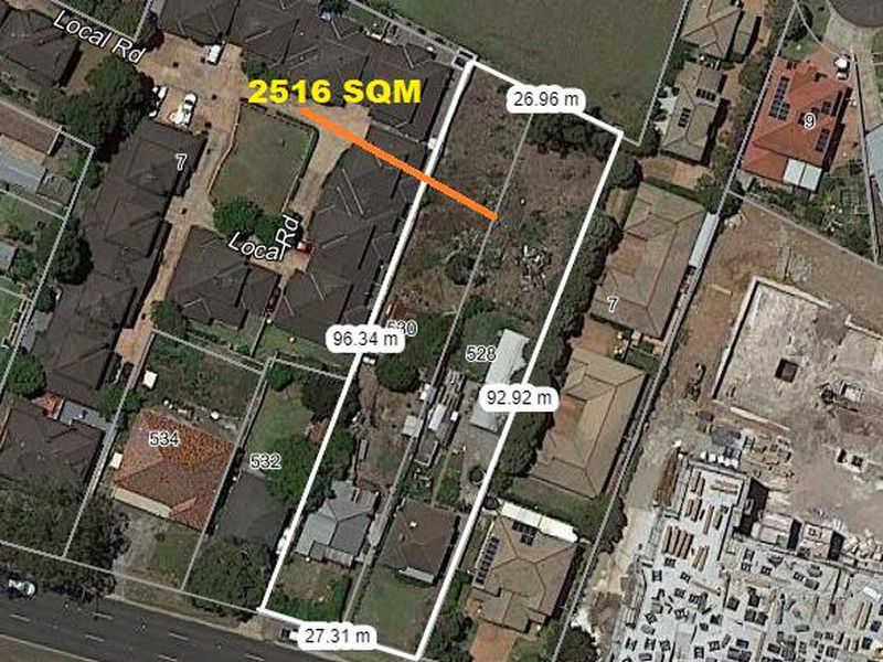 528 -530 Great Western Highway, Pendle Hill
